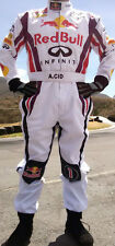 RedBull White Go-Kart Race Suit CIK/FIA Level 2 With New Year Discount