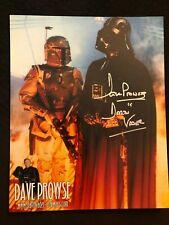 David Prowse DARTH VADER Star Wars Signed Autographed 8x10 ESB Boba Fett
