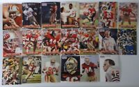 1991 Pro Set Series 1 San Francisco 49ers Niners  Team Set 20 Football Cards
