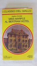 AGATHA CHRISTIE - MISS MURPLE AL BELTRAM HOTEL - ED.1981 GIALLO MONDADORI [L36]