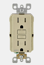 New! Leviton Smart-Lock Pro Ivory Grounded Outlet 20 Amp 125 Volt R01-Aftr1-0Ki