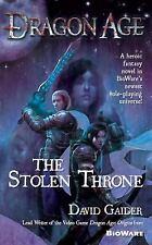 Dragon Age: The Stolen Throne by David Gaider (2012, Paperback)
