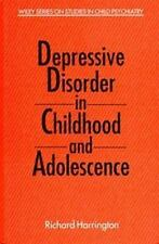 Depressive Disorder in Childhood and Adolescence (Wiley Series on-ExLibrary