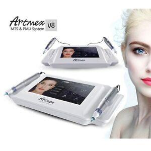 Digital Artmex V8 Rotary Pen Eye Brow Eyeline Lip Permanent Makeup Tattoo System