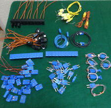 Large Quantity (Omega) Thermocouple Connectors & Parts - Type J, K T - 100 parts