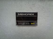 Vintage Audio Cassette MEMOREX Normal Bias 90 * Rare From Ireland 1978 *