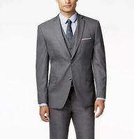 $501 Alfani Men Gray Slim Fit 2 Button Jacket Blazer Sport Coat Suit Pants 38 L