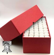 Penny Cent Tube Storage Box Coin Holder 19mm Heavy Duty + 50 Clear Case Tubes