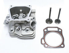 Kit Fits Honda GX160 5.5HP Cylinder Head Inlet & Exhaust Valves Head Gasket