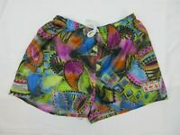 Vintage Mens Board Shorts Size L Beach 90s Brigt Loud Surfing Sports Mambo
