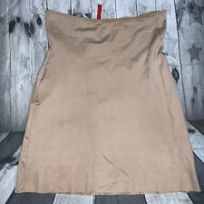 SPANX Shaping Form Nude Tan Slip Woman's Large