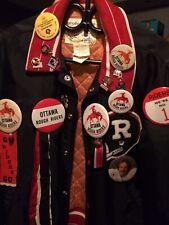 Ottawa Roughriders RedBlacks Vintage Jacket And Pins