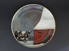 "The American Folk Art Collection ""Barnyard Christmas"" By Franklin Mint #G4546"