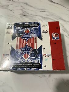 2005 Leaf Rookies and Stars Football Hobby Box Factory Sealed 24 Pack