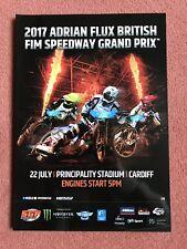 2017 British Speedway Grand Prix Programme