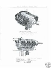 Lycoming O-435 engine manuals overhaul repair parts service maintenance details