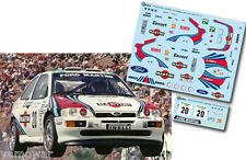 Decal 1:43 Sergio Trevisan - FORD ESCORT COSWORTH - Rally El Corte Ingles 1997