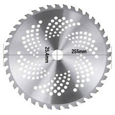 """40 Teeth/Tooth Carbide Blade 25.4mm Bore Diameter 10"""" For Brush Cutter Strimmer"""
