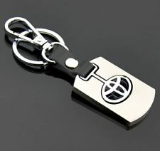 Toyota 3D Car Logo Key Chain Key Ring Fob Pendant Home Office Gift Chrome UK