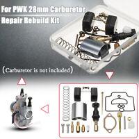 28mm Motorcycle Carburetor Repair Rebuild Kit For PWK KEIHIN OKO Spare Jets