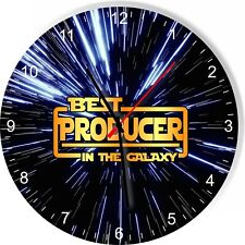 Best Producer in the Star Galaxy Wars Space Kitchen Living room Wall Clock
