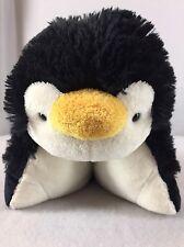 "Dream Lites Pillow Pet Playful Penguin Plush Nightlight Star Projector 11"""