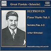 Beethoven - Piano Works, Vol 1, , Audio CD, New, FREE & FAST Delivery