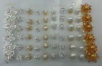 Joblot Wedding Diamante Crystal Hair Twists Swirls Pins