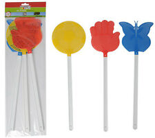 Pack of 3 Guard'n Care Edco Fly Swatter Wasp Mosquito Bug Swat Killers 45cm Long