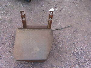 John Deere Tractor  Step Tool Box