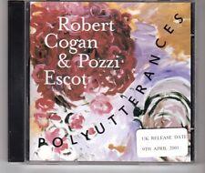 (HG654) Robert Cogan & Pozzi Escot, Polyutterances - 2001 CD