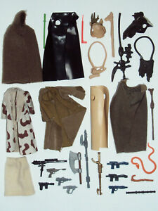 LOT vintage STAR WARS kenner WEAPONS accessories ORIGINAL poch PBP variant SPAIN