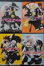 JAPAN D.Gray-man Innocent Ash 1~4 Complete Set manga