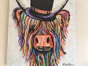 Steven Brown Toby Mori Large Canvas