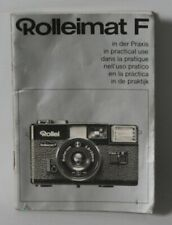 Rollei Rolleimat F - Vintage Camera Manual