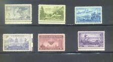 US 1951 Commemorative Year Set with 6 Stamps MNH