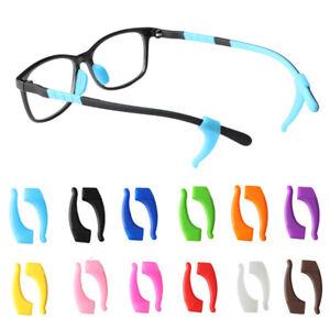 1/5Pair Anti-Slip Glasses Ear Hooks Grip Eyewear Accessories Silicone Temple Tip