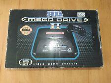 Retro Video Games Concole SEGA MEGA DRIVE 2 Clone Rus In Box CONDITION +2 GAMES