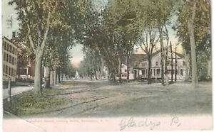 Rochester Wakefield Street Looking North 1905 NH