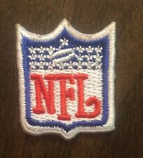 "NFL Shield /crest 1""x 1.25"" Inch  Iron  On  Hat Or Jersey Patch"