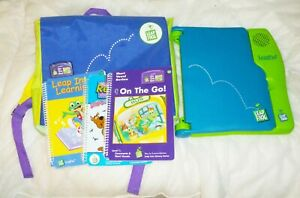 Leap Frog Leap Pad Learning System + Carry Case + 1 Cartridge & 3 booklets