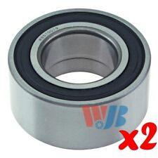 Pair of 2 New Front or Rear Wheel Bearing WJB WB510019 Cross 510019 FW136
