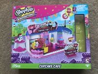 Shopkins Kinstructions Cupcake Cafe 175 Pieces Figures Missing Cafe New Unopened