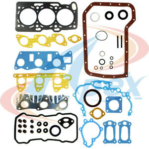 Engine Gasket Set Apex Automobile Parts AFS6008 fits 87-94 Subaru Justy 1.2L-L3