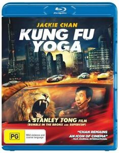 Kung Fu Yoga - blu-ray - brand new sealed - Jackie Chan!