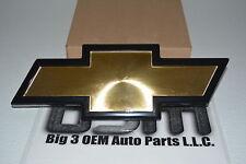 GMC Topkick C-Series 6500 7500 Front Grille Gold Bowtie Emblem new OEM 15566823