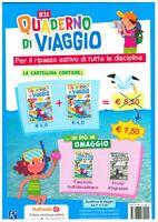 Kit Quaderno di viaggio 3° italiano+matematica, RAFFAELLO SCUOLA, vacanze