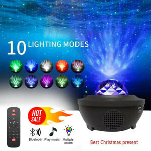GALAXY360PRO PROJECTOR Music Starry Water Wave LED Projector Light Bluetooth USA