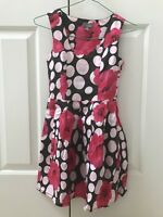 Urban (Pumpkin Patch) - Girl's Red Polka Dot Dress - Size 2XS (10 Yrs)