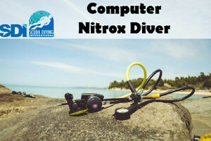SDI ONLINE NITROX ELEARNING COURSE & FINISH TRAINING WITH ANY SCUBA INSTRUCTOR